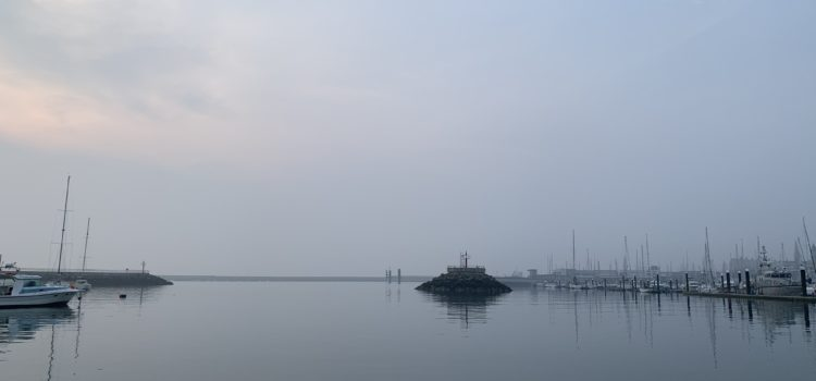 T'was a misty morning