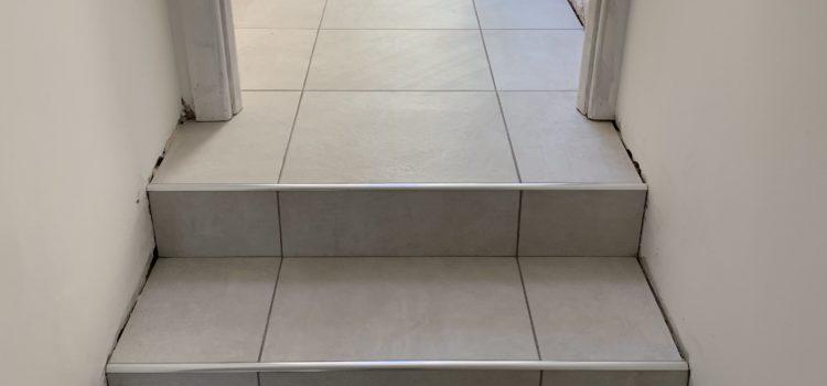 Passageway tiled